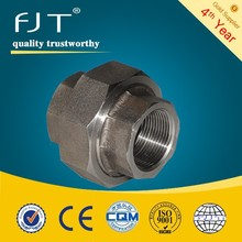 High pressure forged Class 3000 carbon steel female threaded union