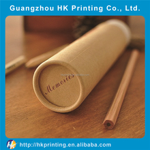 Custom round paper box cardboard pencil packaging boxes