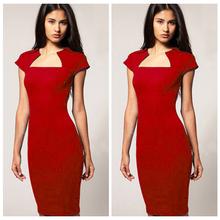 venta al por mayor ropa para mujer manga corta mujeres flacas vestidos de lápiz