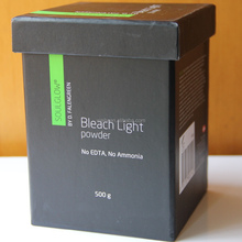 bleach light powder for hair dust free no ammonia
