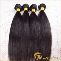High quality full cuticle top quality black girl hair extensions