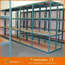 Tear Drop Slotted angle warehouse storage iron racks