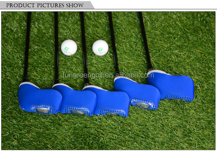 Hot Sale Fashional Waterproof Golf Head Cover For Iron Golf Clubs