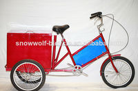 New Cargo Bike with 3 Wheel/ Ice Cream Cargo Bike Manufacturer / Hot selling ice cream tricycle SW-T-M01
