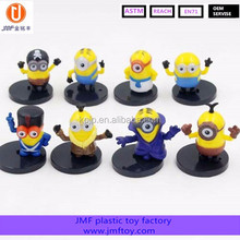 On Sale Custom Cartoon Character Plastic Action Figure Despicable Me Minion Action Figure
