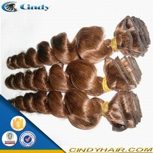 high quality fast delivery chocolate brazillian human hair extenions weaving for wholesale