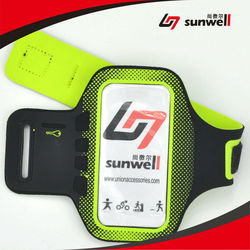 Sports Running Armband Case Cover With Adjustable Velcro Strap & Key Pocket