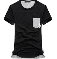 D90082P MEN'S SHORT ROUND-NECK T-SHIRT