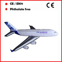 Airplane company advertising Promotional mini inflatable aircraft airplanes for children