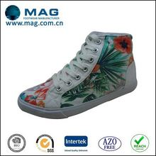 Best quality Hawaii style canvas shoe