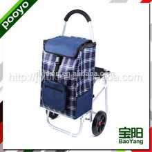 juxin heavy duty luggage trolley dry sample