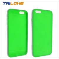 tpu base case and pc bumper combo for iphone 6 plus case