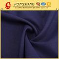 Tecido Designer de fornecedor de vestuário macio de poliéster spandex trecho tecido preto