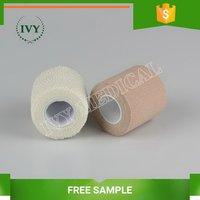 Factory hot selling cotton polyester latex elastic bandage