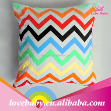 hot sale color stripe 100 cotton pillow case for baby LB20150919-4