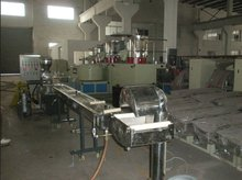 PET Bottles granulating/pelletizing line