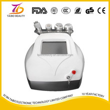 Portable High Frequency Multifunctional Treatment Wand Facial Machine/ 5 in 1 multifunction vacuum cavitation machine/ cavitatio