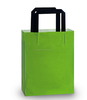 HDPE deluxe gloss solid color frosted shopping bags