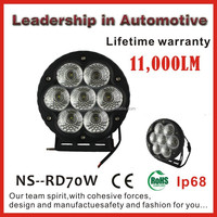 High Power 70W 12v LED Work Light for Marine & Offroad with IP68, CE, RoHs & Emark approved