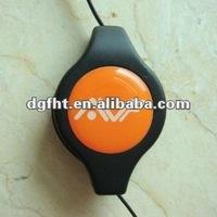 Clear Plastic Brand Logo Dome Dot Sticker