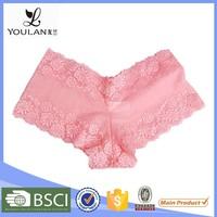 China Factory Graceful Hot Romantic Fitness Sweet Sexy Girls Preteen Underwear