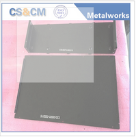 Custom high precision aluminum electric pcb enclosure box fabrication
