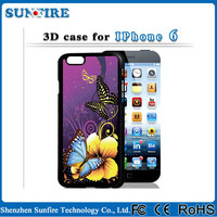 2015 best selling 3d image back cover case for iphone 4