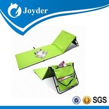 Discount useful orange metal camping folding beach mat