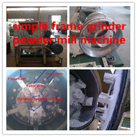 Low consuption industrial corn mill,high effective corn flour mill,hot sell industrial grain mill