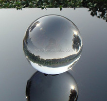 k9 100mm glass ball Clear 10cm Crystal Ball Sphere