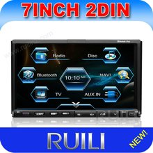 HD touch screen 7 inch radio and dvd player with bt/ipod/tv