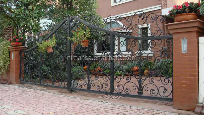 Luxury wrought iron grill main gate design buy