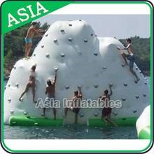 Funny Beach Inflatable Iceberg Climbing Wall,Inflatable Floating Iceberg