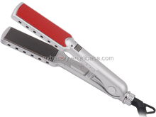 Professional digital salon equipment style elements LCD flat iron