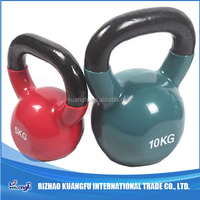 Crossfit Fitness Gym Painted Cast Iron Kettlebell