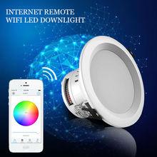 Magic LED Downlight Phone APP Wifi Music Control Rgbw Color High Brightness high lumen sharp chip 8w cob led down light