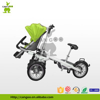 Professional Manufacture Baby Carriage Bicycle Cargo Tricycle Pram Walker For Sale
