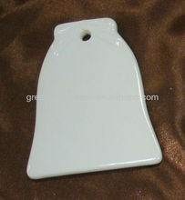 Sublimation Ceramic ornaments with hole