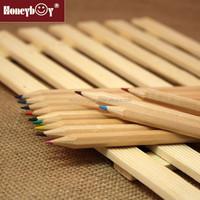 Free sample promotional 7'' sharpened natural color pencil