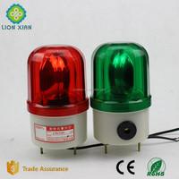 Bulb revolving green car warning beacon