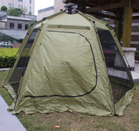 Mesh Type Auto Tent Camping Tent for three season with fiberglass IM-A401