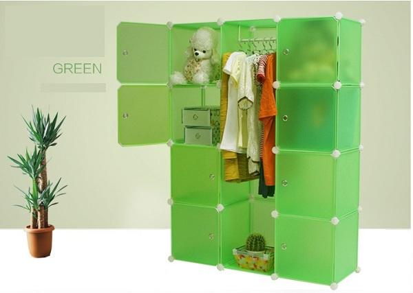 Mobília do quarto guardaroupa portátil armário novo einovador de
