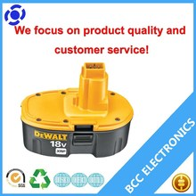 Rechargeable power tool battery dewalt dc9096-2 18v 3000mah lithium ion cells