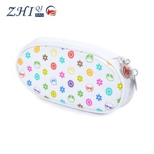 Directly Factory BSCI fashion high quality waterproof PU student pencil bag