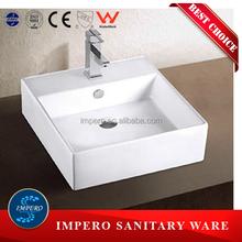 Popular bathroom countertop ceramic wash basin pictures