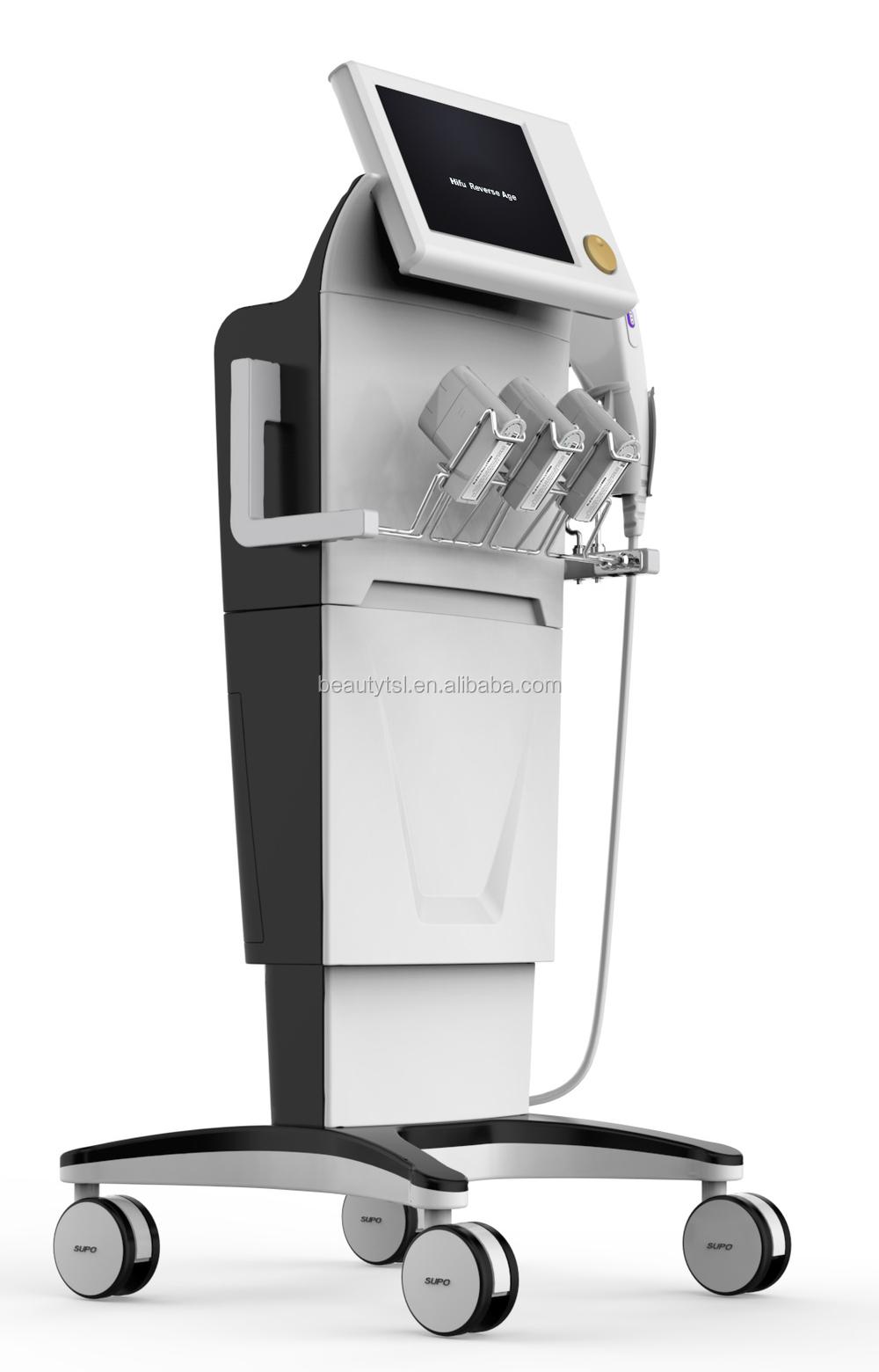 Forme du corps amincissant la Machine de beauté Machine à haute intensité focused ultrasons hifu ultrasons Machine