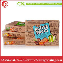wholesale cookie storage boxes dispaly box for beef jerky product