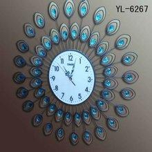 Reloj De Pared En Hierro Forjado Artistico