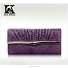SK-6016 First class lady handbag evening handbags with metal decoration cover lock