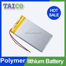 Popular Size Tablet PC Lipo Battery 3.7v 7200mah in Stock